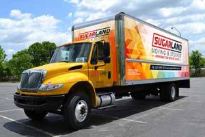 Pinpoint Movers Box Truck