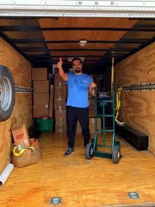 Moving services in the Houston area